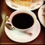 丸福珈琲店 千日前本店。昭和レトロな純喫茶。